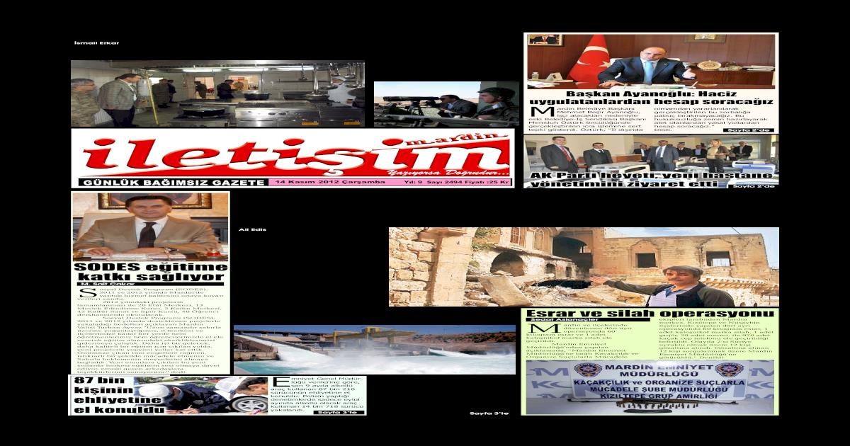 14 Kasm 2012 Aramba Gazete Sayfalar Pdf Document