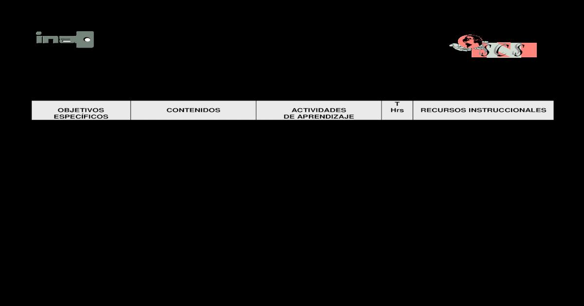 Instituto Nacional De Aprendizaje Ina Ac Cr General
