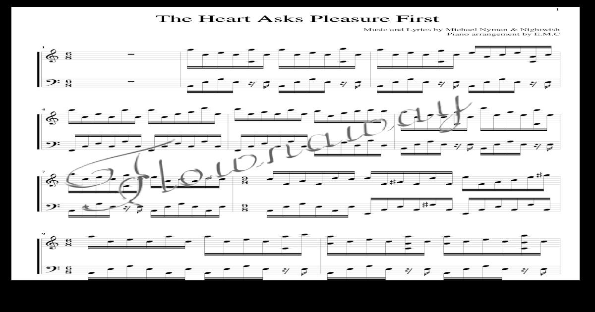 Heart Asks Pleasure First Pdf Document