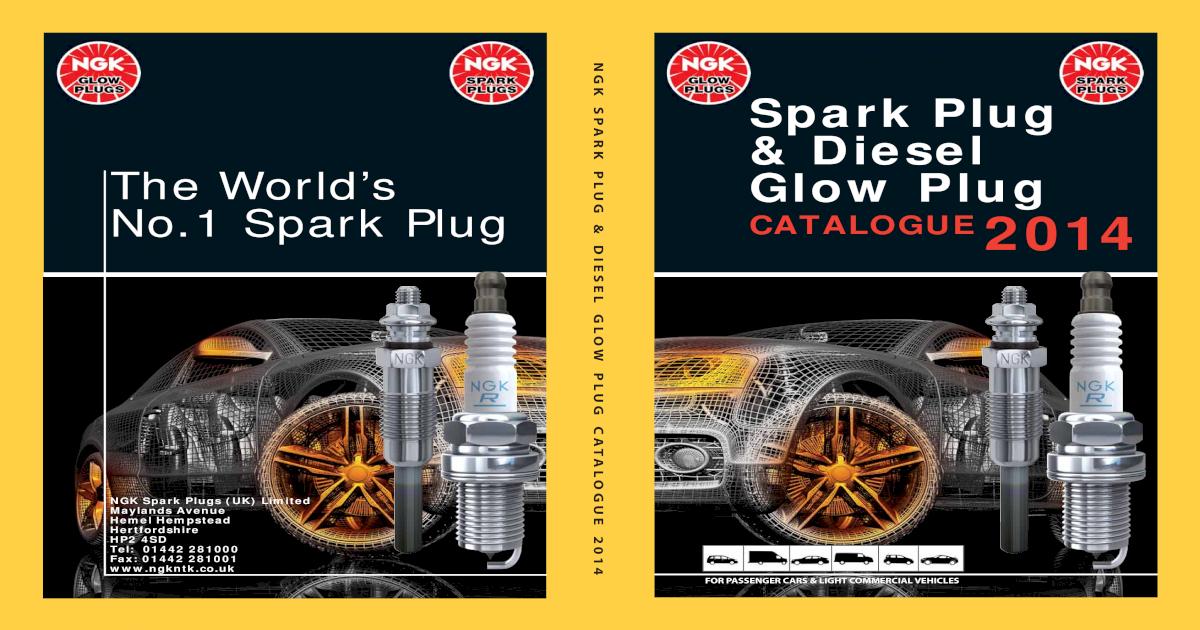 8944 Y-733J ngk diesel glow plug srm metal new in box!