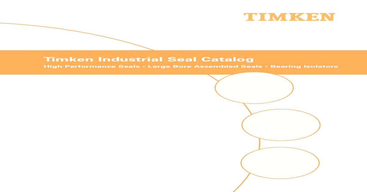 Timken 222267 Camshaft Seal