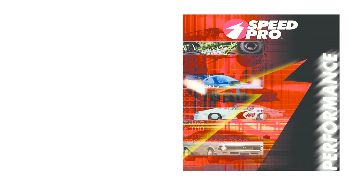 sealed powerSpeed Pro Main Bearing Small Block Chevy Kit P//N 140M standard