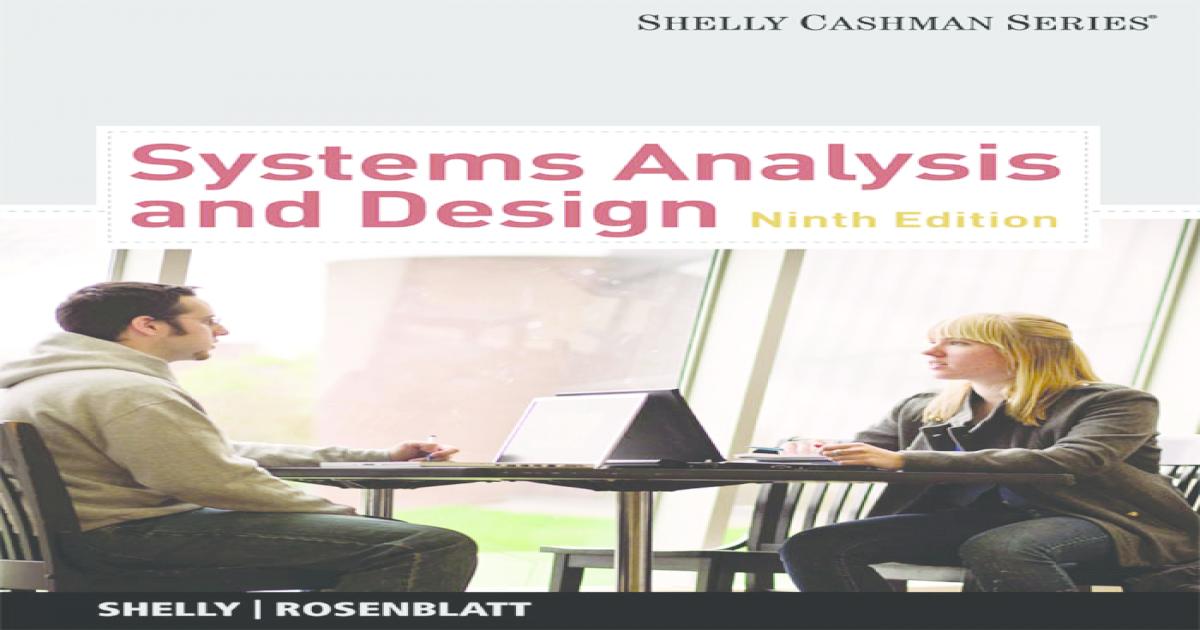 System Analysis And Design 9e Pdf Document