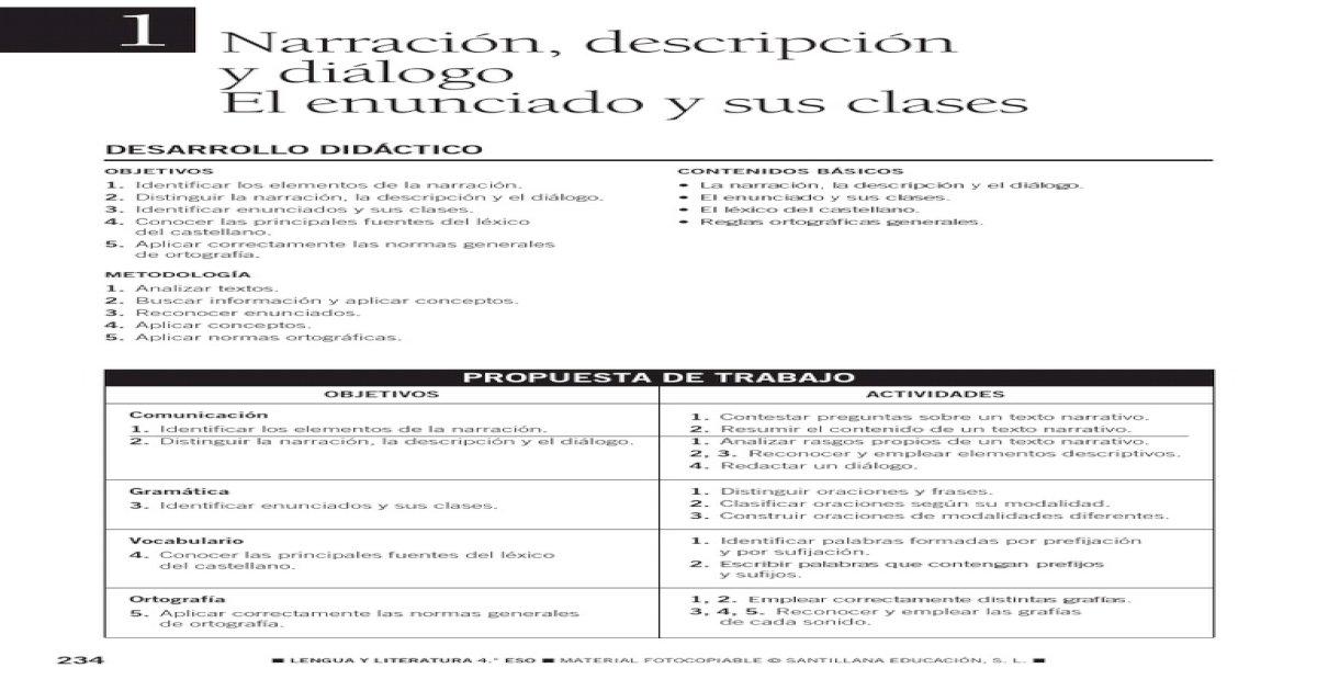 2013 Castellano Cuarto Trabajo Verano Pdf Document