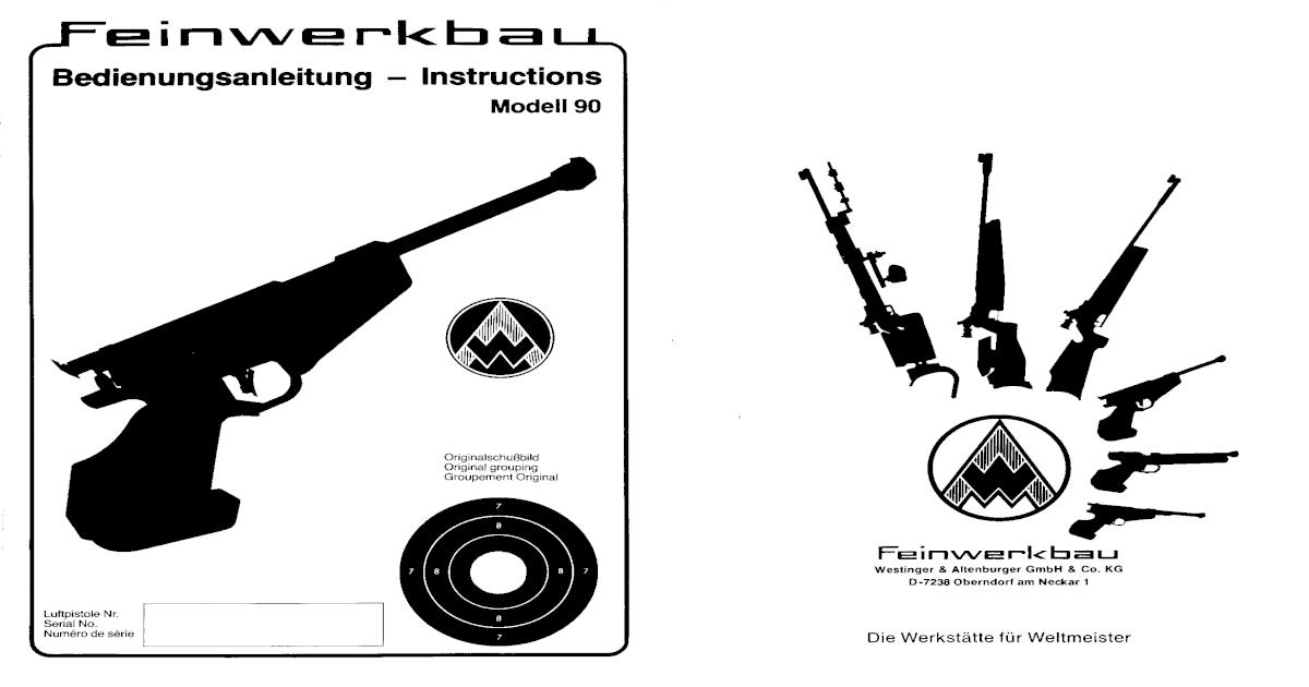 Feinwerkbau Model 90 - [PDF Document]