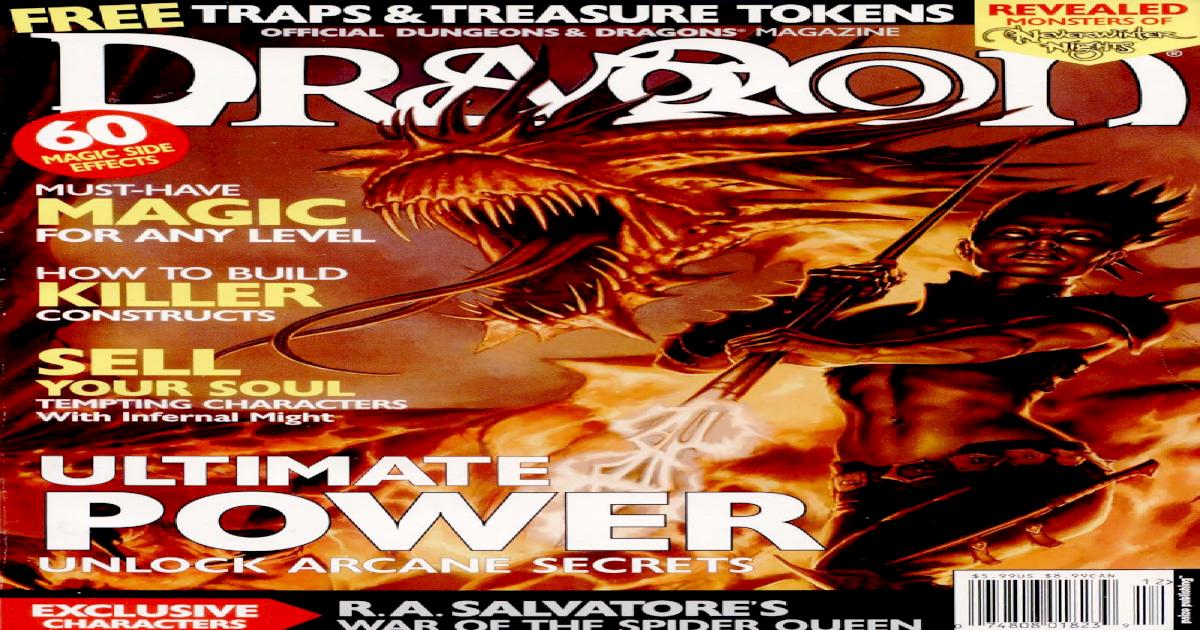 Accessory - Dragon Magazine #302 - [PDF Document]