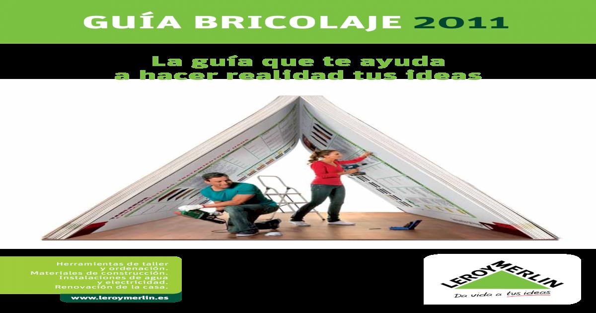 Guia Del Bricolaje Pdf Document
