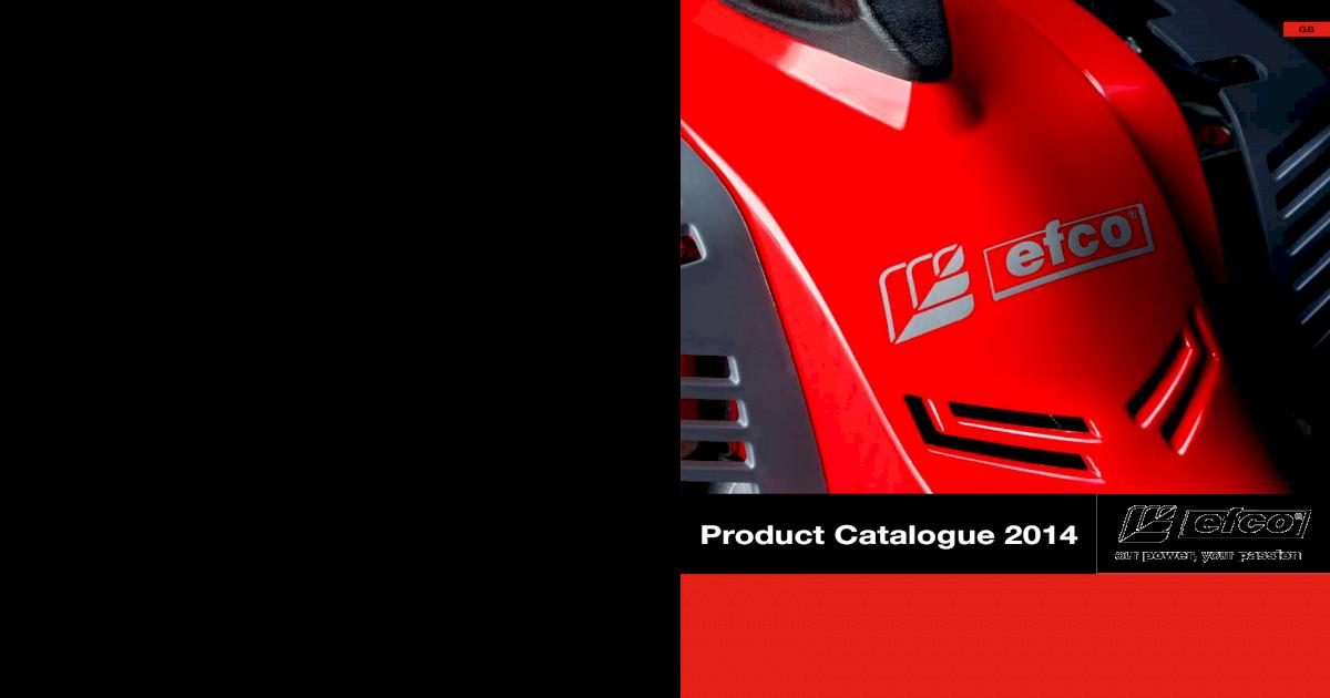 Efco retail 2014 gb low - [PDF Document]