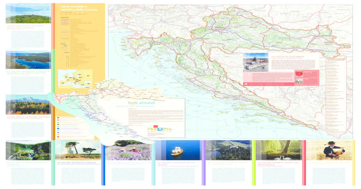 Cartina Stradale Baska Croazia.Carta Stradale E Turistica Della Croazia Pdf Document