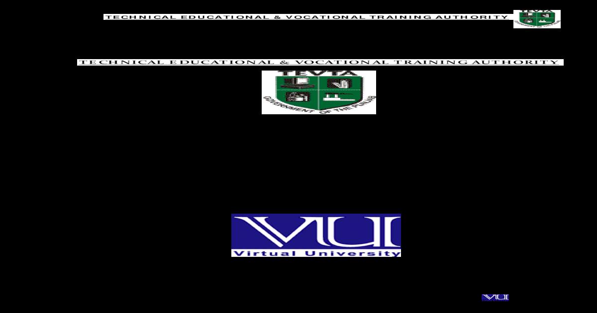 HRM Internship REport on TEVTA - [PDF Document]