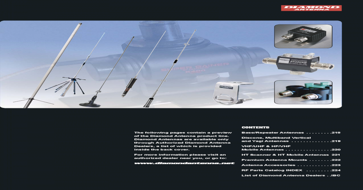 "Diamond SG7500A VHF//UHF 2 Meter//440 MHz Dual Band Antenna 40.6/"" PL-259"