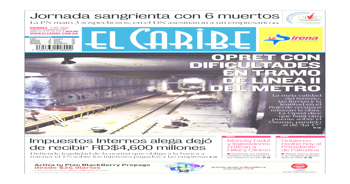 El Caribe Pdf Document