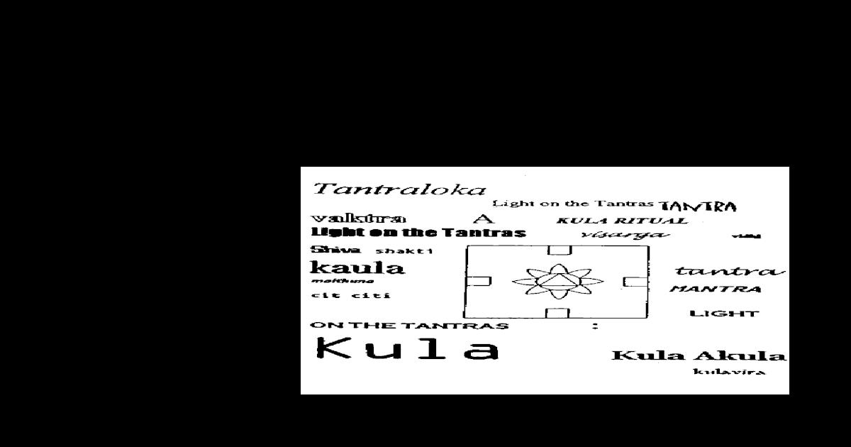 John R  Dupuche - Abhinavagupta The Kula Ritual - [PDF Document]