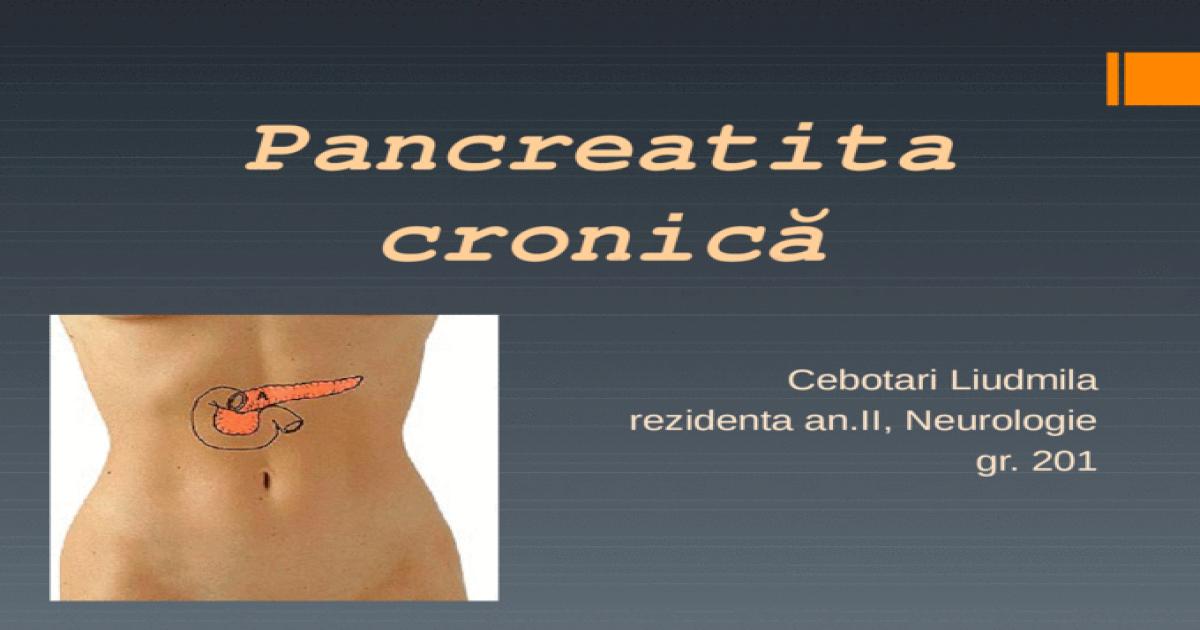 pierderea în greutate în pancreatită)