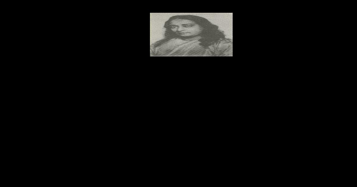 Paramahamsa Jogananda Autobiografia Jogina Pdf Document