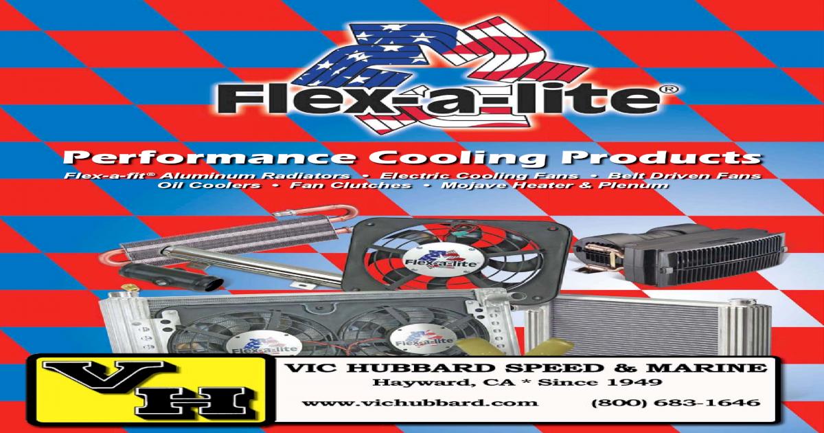 Flex-a-lite 270 97-05 Ford Truck Fan