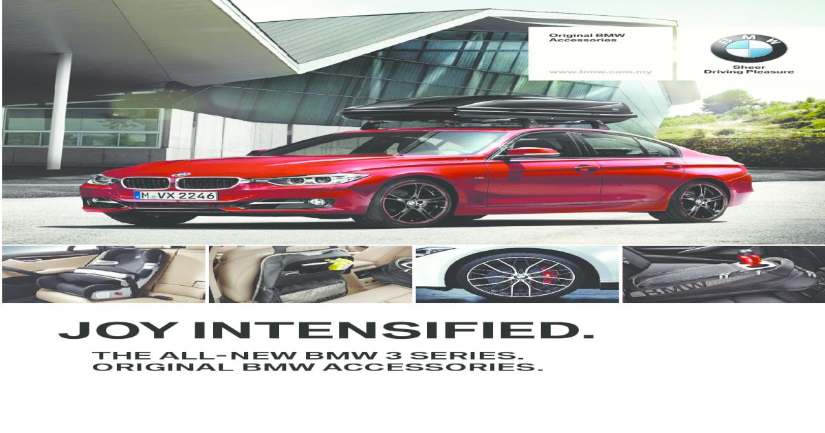 BMW Genuine Tailored Textile Rear Floor Mats Sport F30//F31 3 Series 51472293359