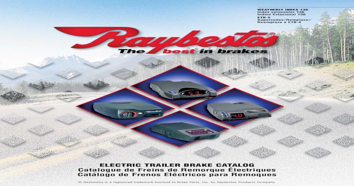 Raybestos 761-3035 Brake Control Accessory