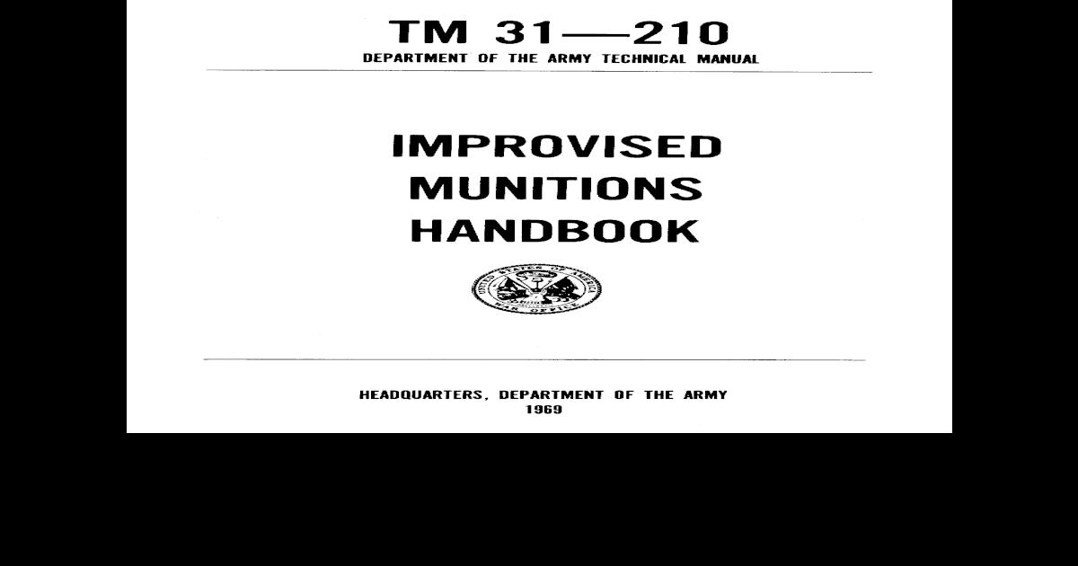 Us army manual tm 31-210 pdf