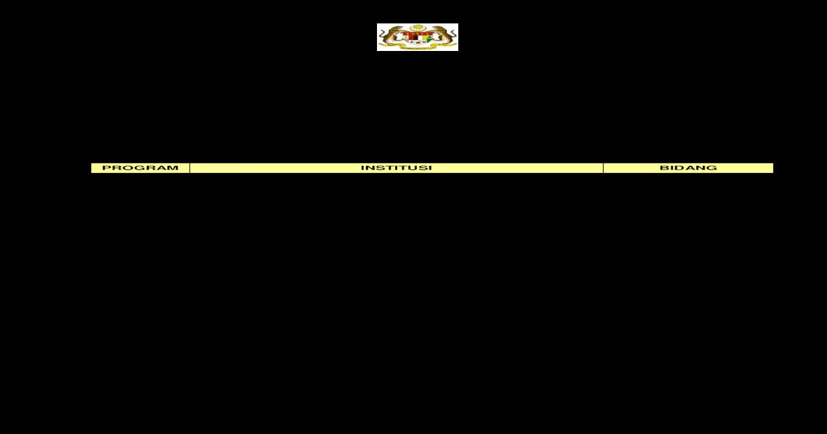 Program Ijazah Dalam Negara 2012 Jpa Indiamaxi