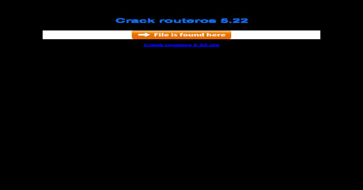 mikrotik 6.40 full crack iso x86