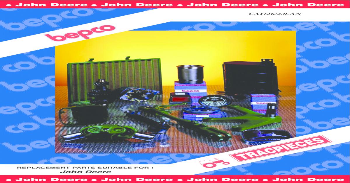 4239T 300 Series Motor Reparatursatz für John Deere mit Lager Std