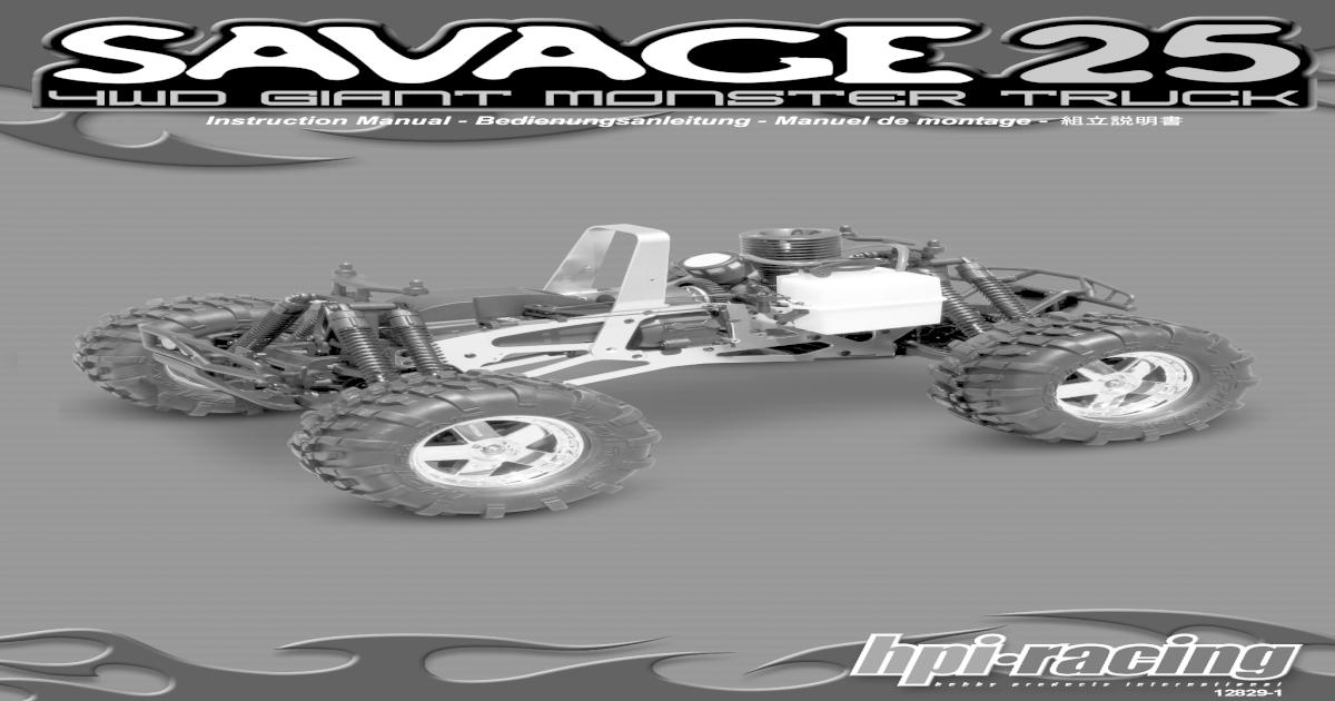 86057 Savage Knochen 8x78mm Mittelantrieb vorne
