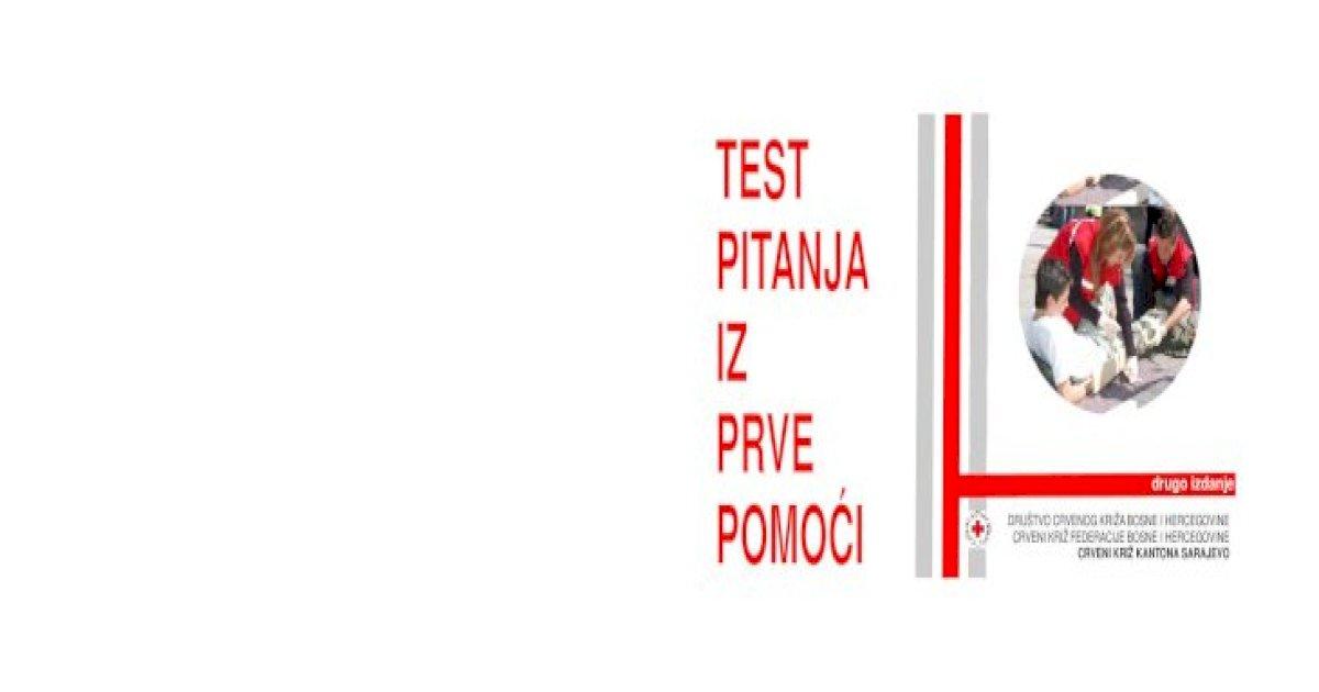 Test Iz Prve Pomoci Pdf Document