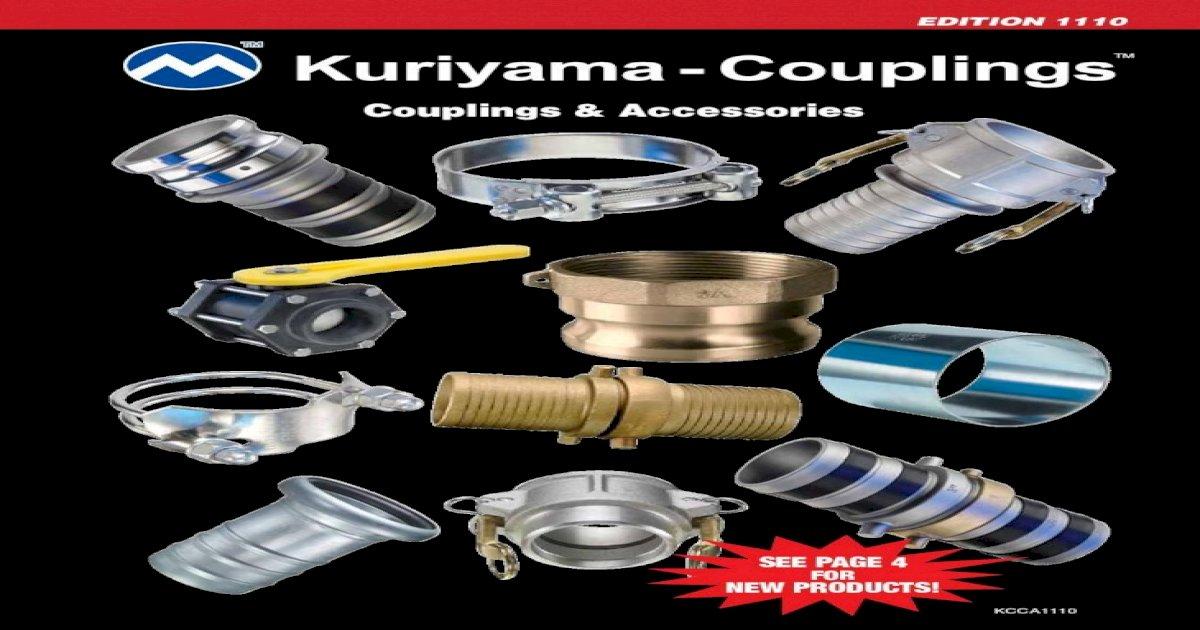 Kuriyama AL-F600 Aluminum Part F 6 Adapter 6 75 PSI