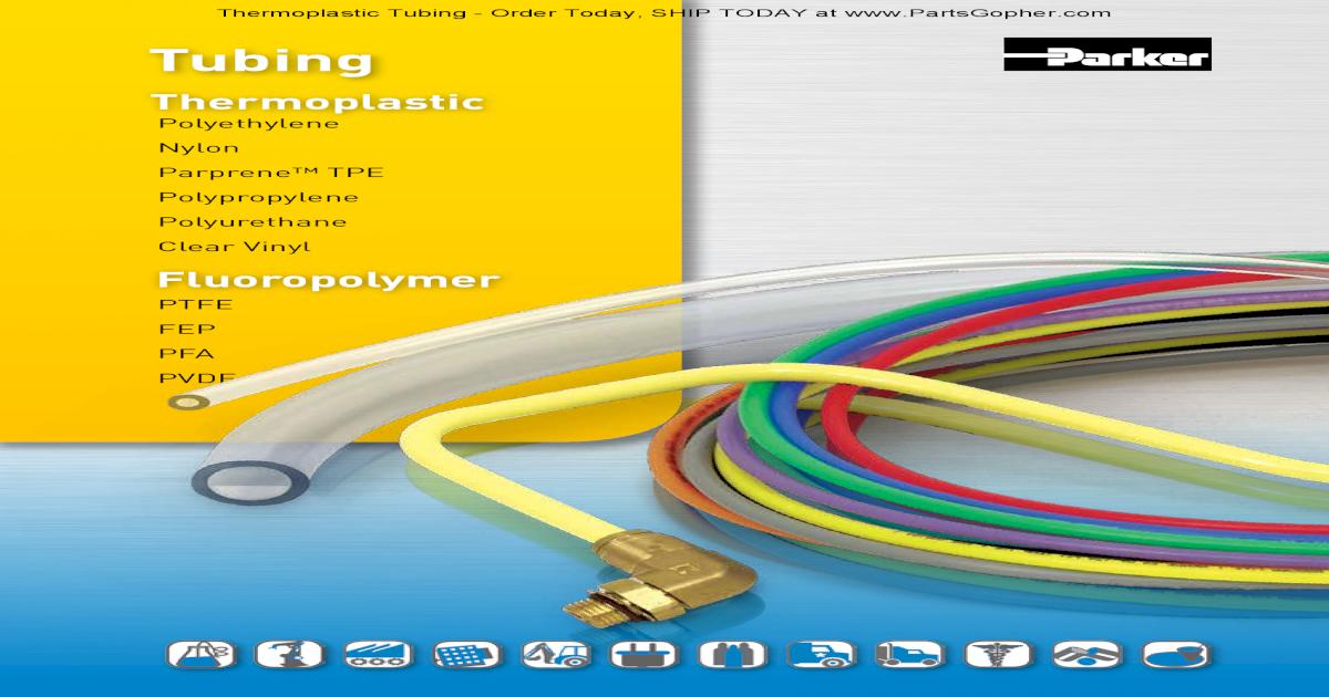 Clear 0.014 Wall 100 Length 0.096 ID 1//8 OD Nylon High-Strength Flexible Tubing