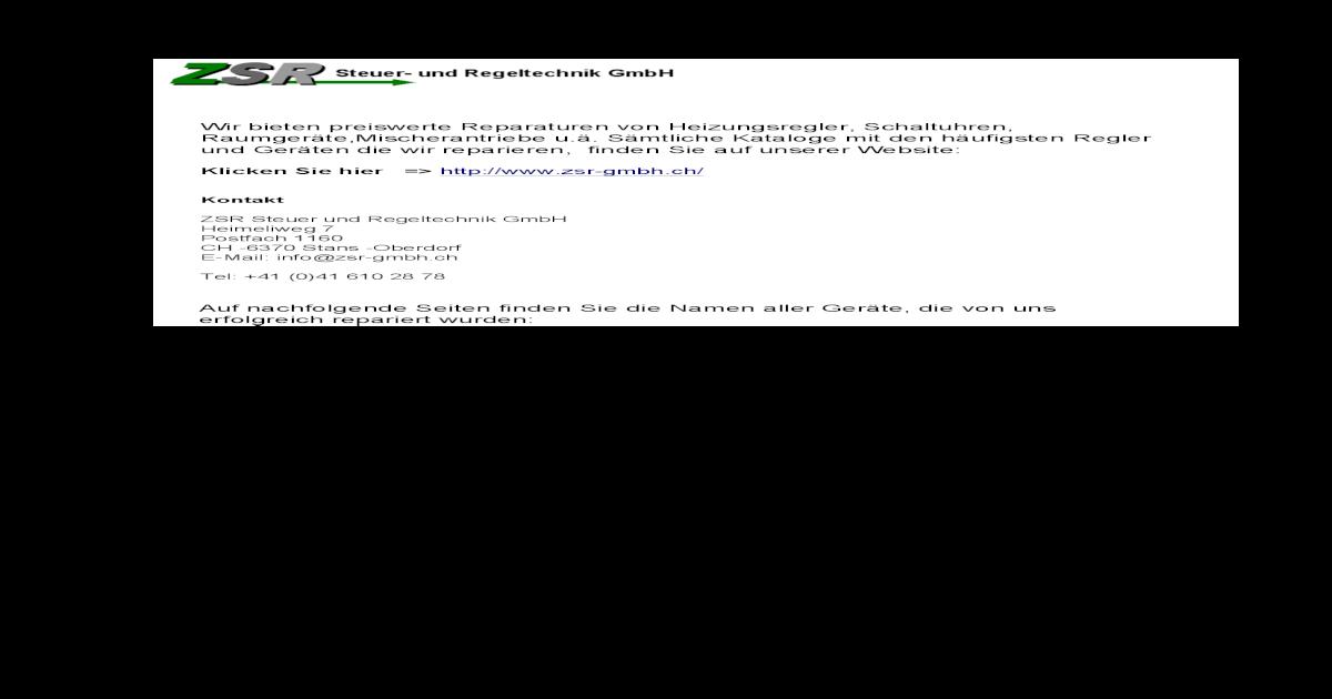 analoge Zeitschaltuhr Oertli OE-tronic P23B