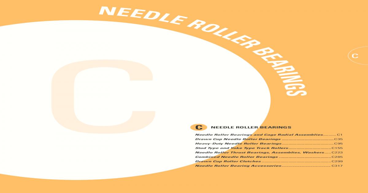 Needle Brg,Drawn Cup,Bore 0.438 In KOYO J-78