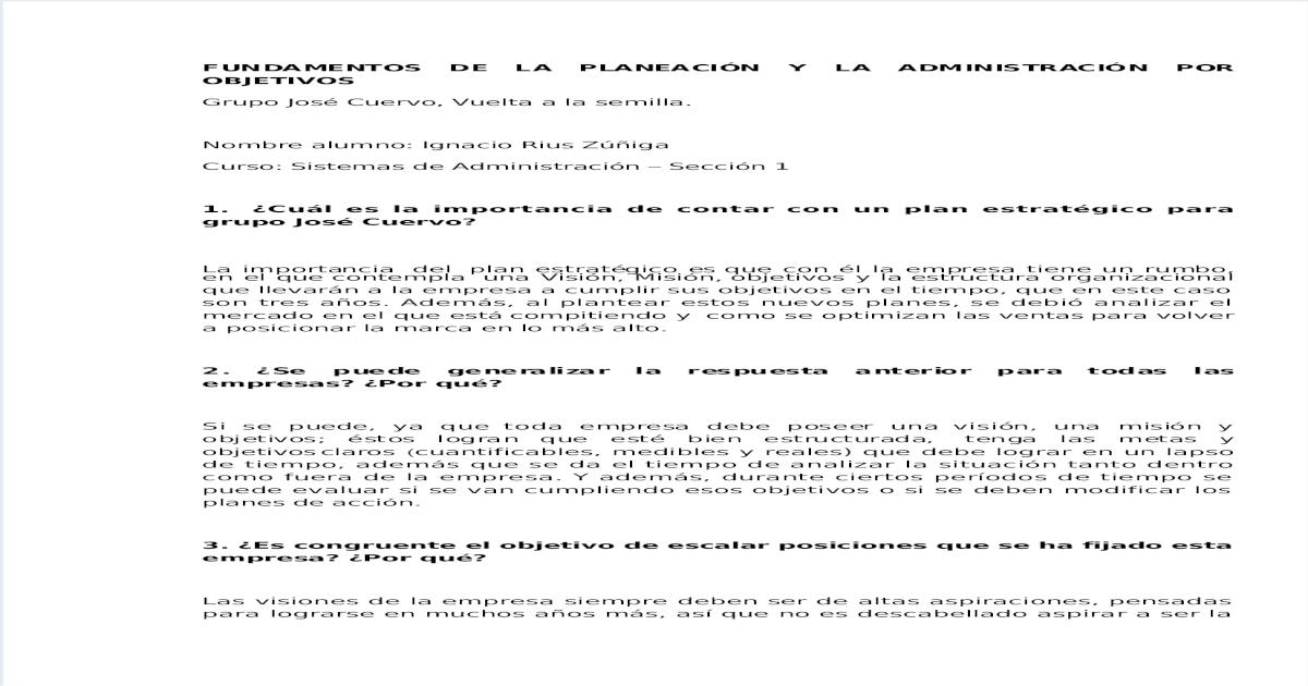Tarea Jose Cuervo Pdf Document