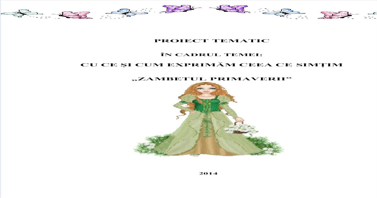 Zambetul Primaverii Pdf Document
