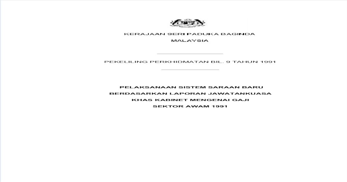 Pekeliling Ssb Pdf Document