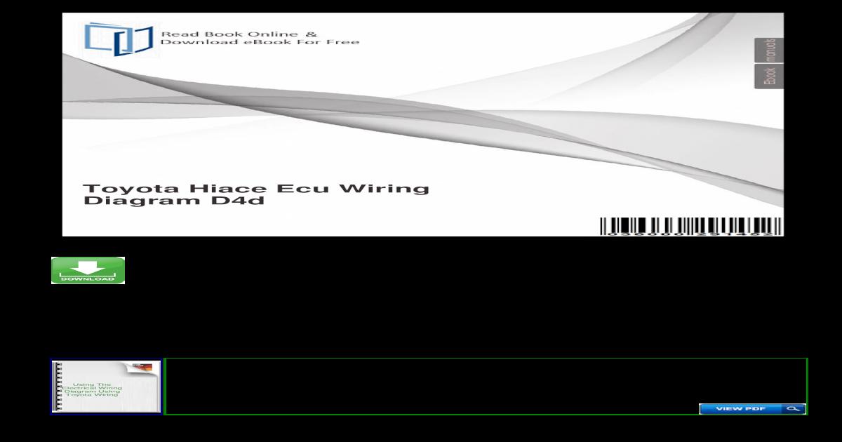 Toyota Hilux Wiring Diagram 2008
