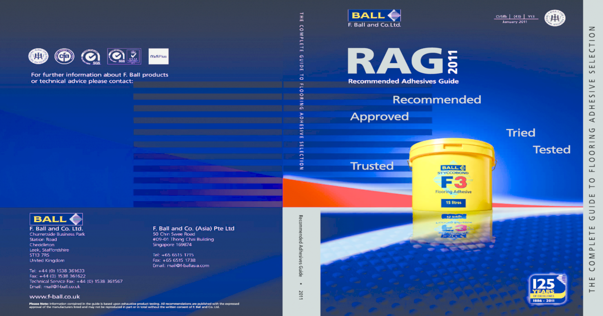 F Ball Rag Guide 2011 A5 Pdf Document