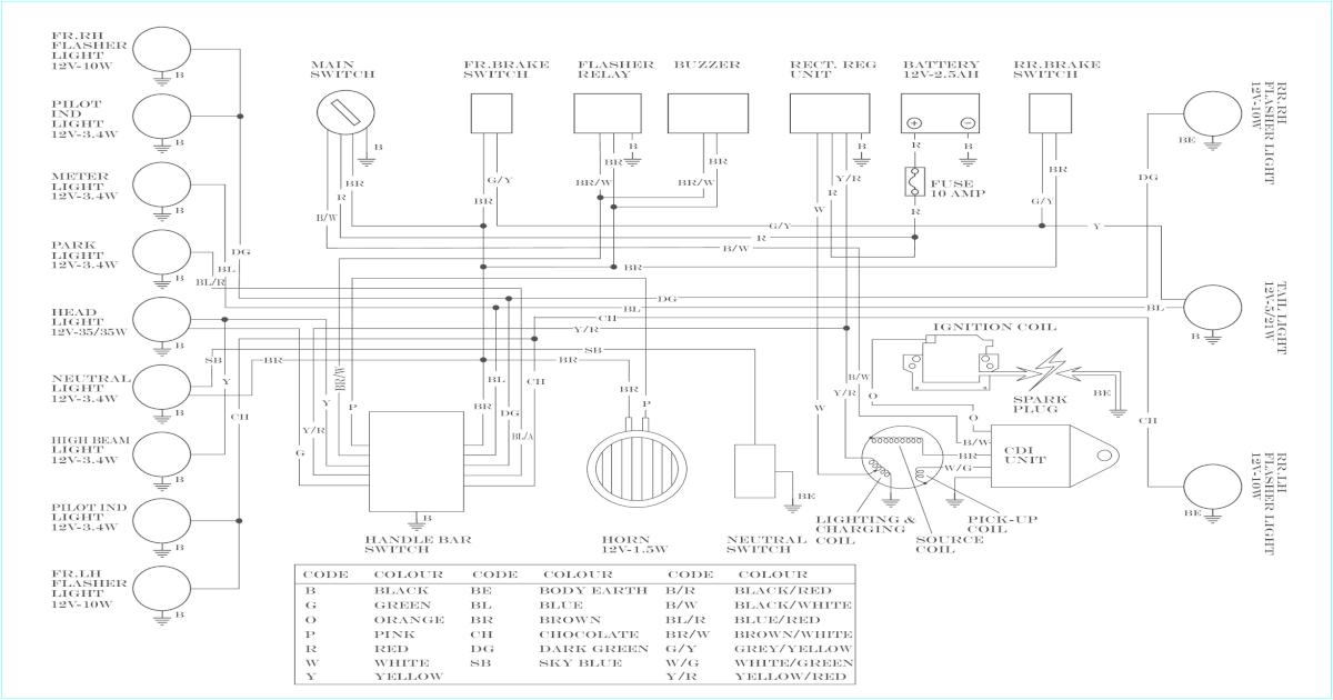 Yamaha Rxz Wiring Diagram | Wiring Diagram on