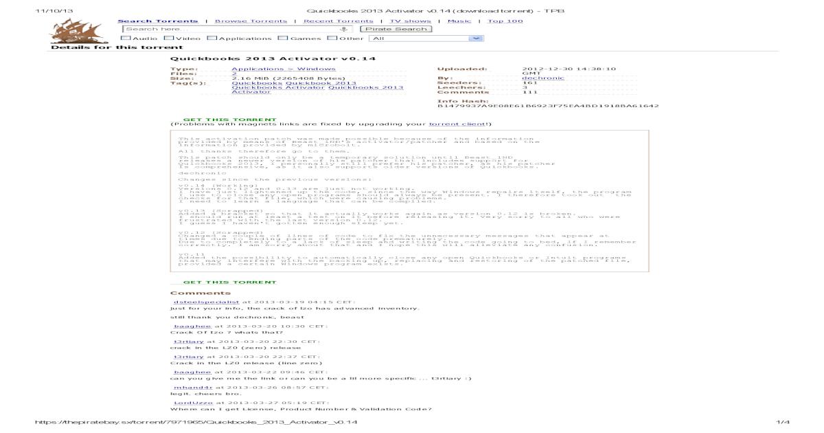 Quickbooks 2013 Activator v - [PDF Document]