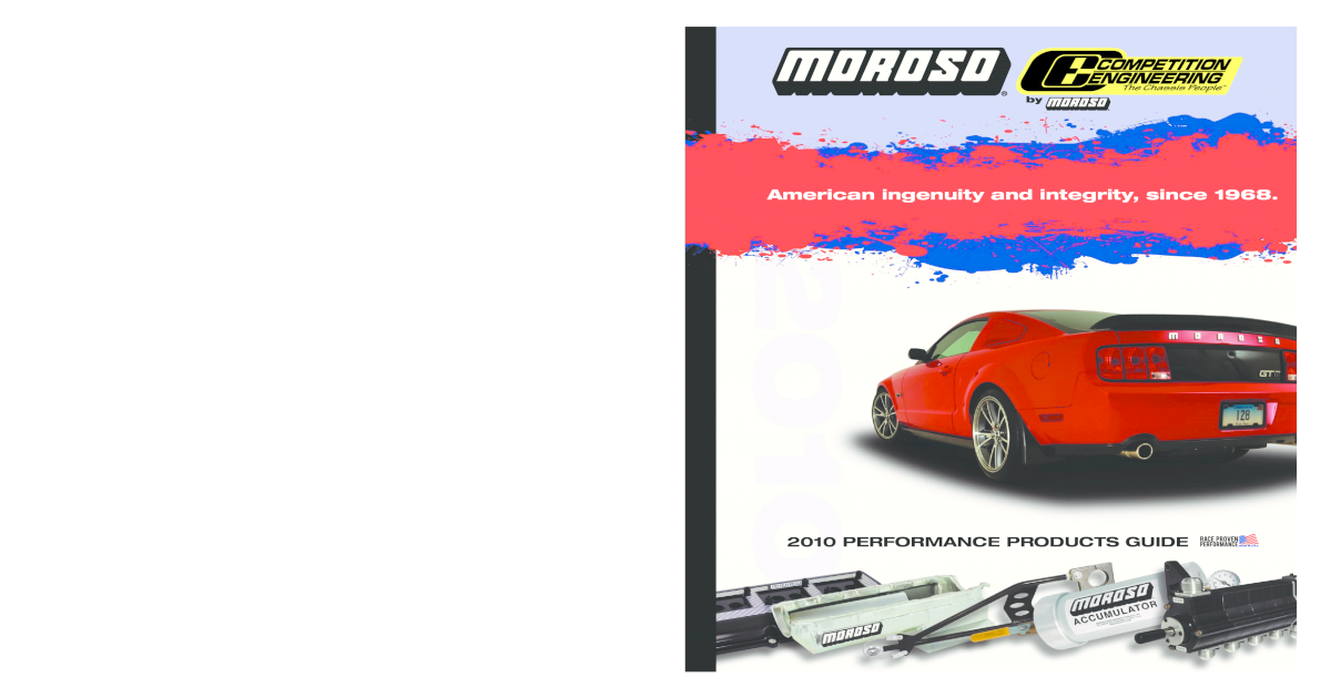 Moroso 22195 Oil Pump and Pickup Assembly High-Volume Chevy Big Block Kit