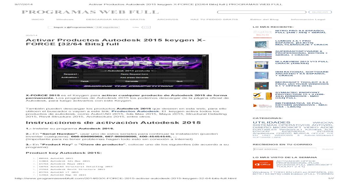 Autodesk Entertainment Creation Suite 2014 Ultimate codigo de activación