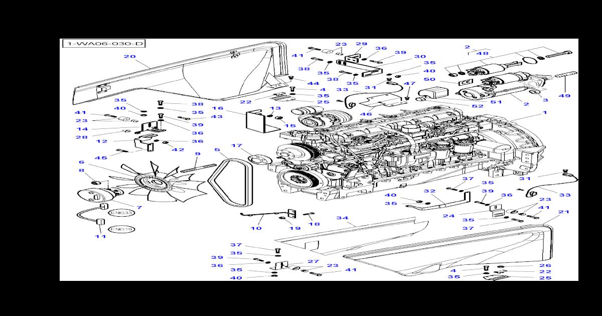 Massey Ferguson Mf 8450, 8460 tractor (tier 3) parts