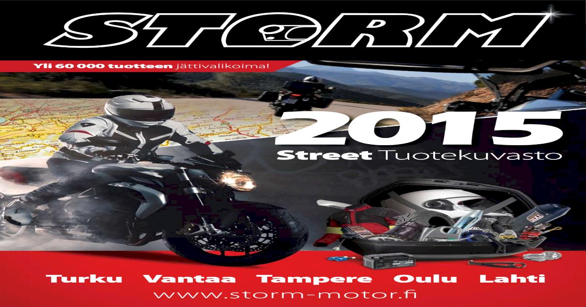 2015pdf Document Storm Motor Street Tuotekuvasto 29EHWIYD