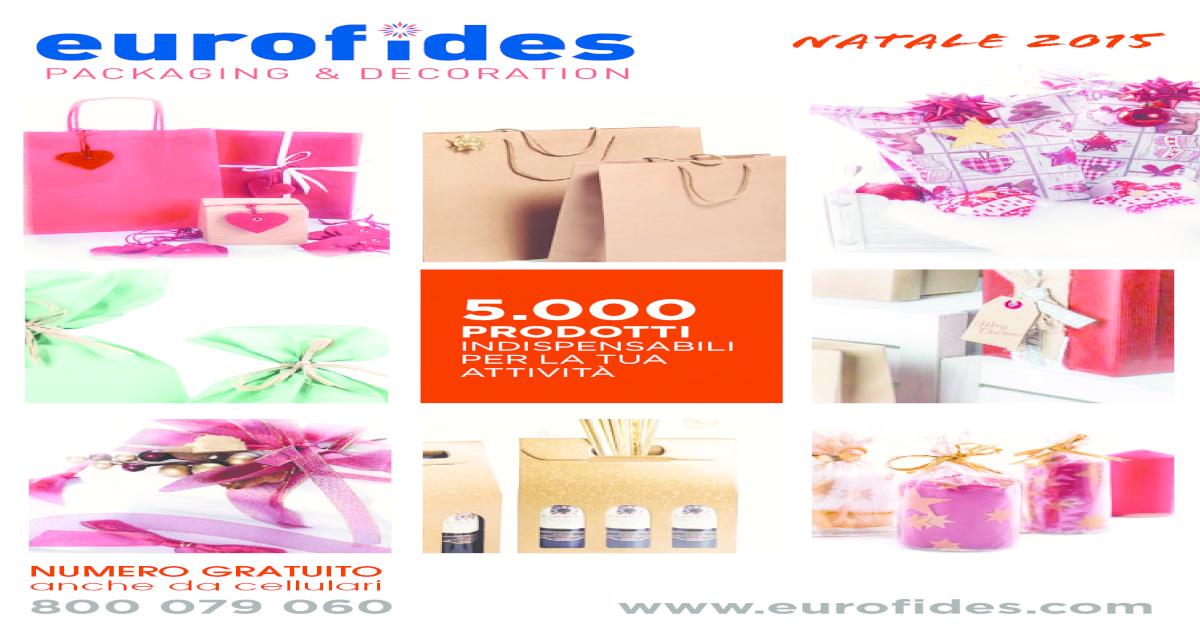 EUROFIDES/® 50 Shopper Carta Lusso Opaca Blu cm.36+12x41 con manico in cotone