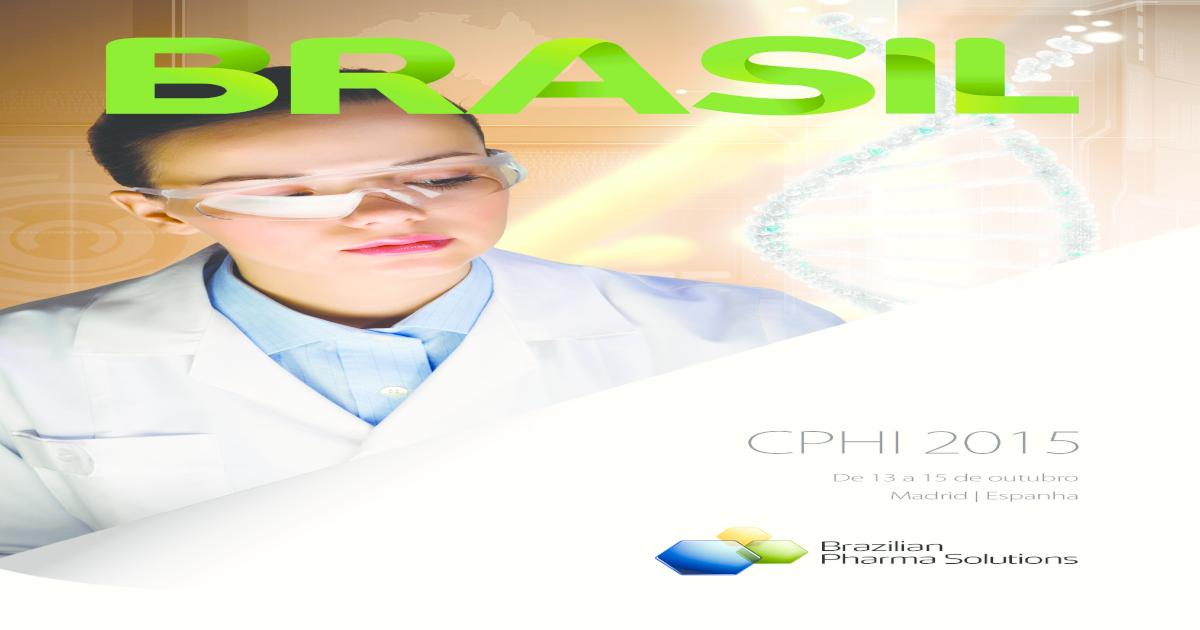 Cphi 2015 Brasil Pdf Document
