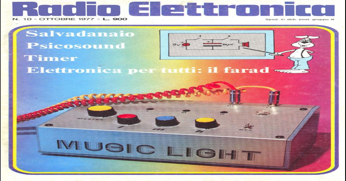 Sveglia digitale a LED a forma di TV anni 60 monoscopio NERA