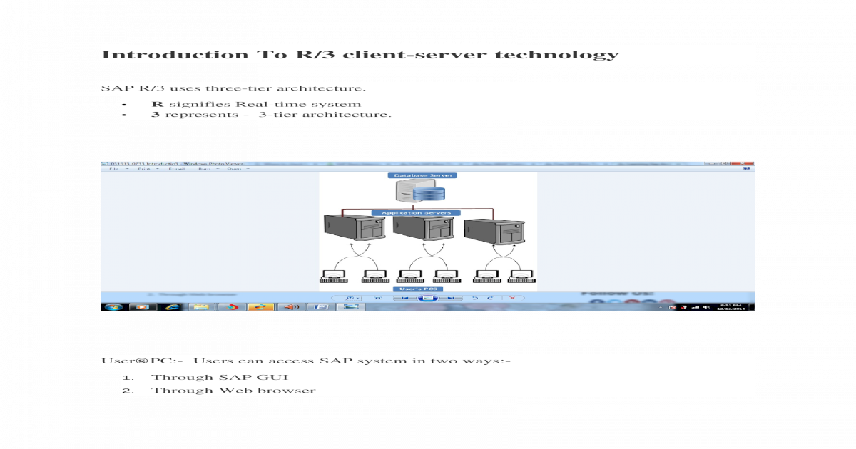Learning Sap Architecture docx - [DOCX Document]