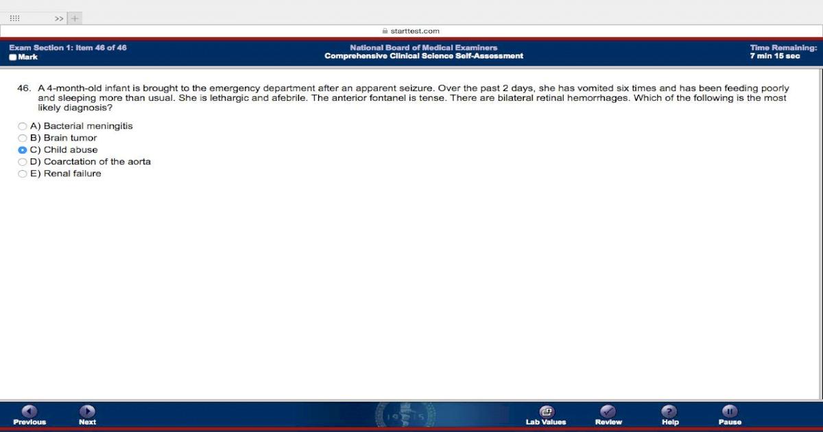 NBME 7 CK Block 1 - [PDF Document]